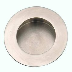 Altro Circular Flush Handle - Stainless Steel - IronmongeryDirect.co.uk