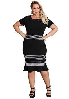 Vestido Plus Size Kauly