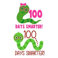 100 Days Smarter Cuttable Design Cut File. Vector, Clipart, Digital Scrapbooking Download, Available in JPEG, PDF, EPS, DXF and SVG. Works with Cricut, Design Space, Cuts A Lot, Make the Cut!, Inkscape, CorelDraw, Adobe Illustrator, Silhouette Cameo, Brother ScanNCut and other software.