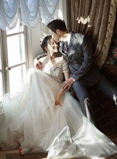 Pre Wedding Shoot Ideas, Pre Wedding Photoshoot, Wedding Poses, Wedding Couples, Wedding Stage Backdrop, Korean Wedding, Wedding Mood Board, Princess Wedding Dresses, Wedding Photography Poses