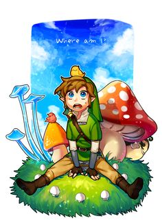 The Legend of Zelda: Skyward Sword I like to imagine that this is how he first felt when he visited the surface.