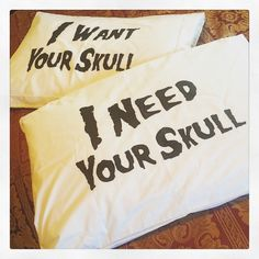 pillow cases @methsyndicate