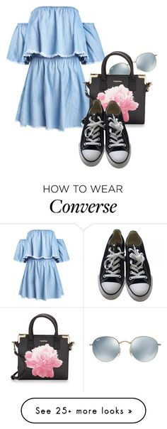 """""""Untitled #3263"""" by sonjamilica on Polyvore featuring Ray-Ban, Calvin Klein and Converse"""