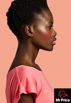 Pink cheeks, pink lips - love