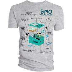 [Adventure Time: T-Shirt: BMO Assembly