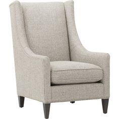 Ken Chair, Taft Pewter ($899) ❤ Liked On Polyvore Featuring Home, Furniture