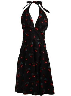 Vintage Retro Cherry Rockabilly Bombshell Halter Pinup Swing Women's Dress - Medium ClosetOnline, http://www.amazon.com/dp/B009NVZV0Q/ref=cm_sw_r_pi_dp_3Cajrb14MCM1M