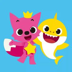 Pinkfong And Baby Shark Coloring Sheet Printable Theme Paper