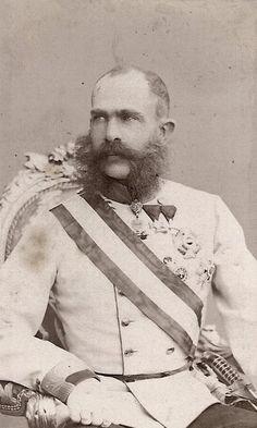 carolathhabsburg: Kaiser Franz Josef of Austria. Mids 1860s.