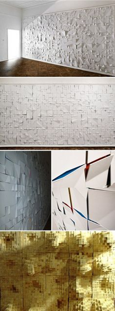 Handmade tiles can be colour coordinated and customized re. shape, texture, pattern, etc. by ceramic design studios - Jerzy Goliszewski