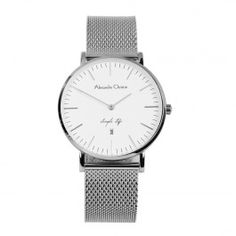 Alexandre Christie Simple Life Female Watch 8566LDBSSSL Casual Watches, Female, Lady, Women