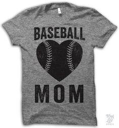Proud baseball mom.