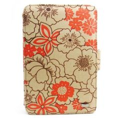 JAVOedge Poppy Axis Case for the Amazon Kindle Fire (Red Tangerine) - Latest Generation by JAVOedge. $32.95. Customize the view of your Kindle Fire with the cheerful Red Tangerine Poppy Axis Case. The Poppy Case is abloom with brightly colored wildflowers that will add a pop of color to your Fire. The coated canvas material makes cleaning up the case safe and easy. The Axis design allows the Fire to be propped up in both the horizontal and vertical positions and 3 built...