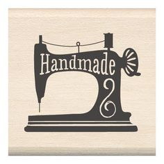 Shop for Inkadinkado Mounted Rubber Stamp Sewing - handmade sewing. Get free delivery On EVERYTHING* Overstock - Your Online Scrapbooking Shop! Stamp Pad Ink, Ink Stamps, Logo Stamp, Silhouette Mint, Silhouette Design, Sewing Quotes, Stamping Tools, Rubber Stamping, Handmade Stamps