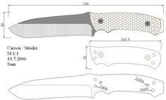 Чертежи ножей для изготовления. Часть 2 | LastDay Club image 85