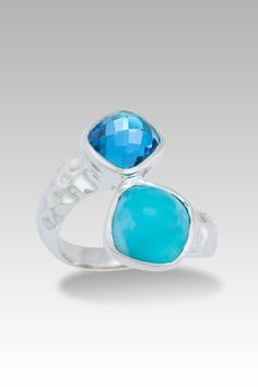 Larimarket - MarahLago Faceta Collection Larimar Ring with Blue Topaz, $315.00 (http://www.larimarket.com/marahlago-faceta-collection-larimar-ring-with-blue-topaz/)