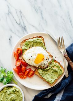 Pesto avocado spread