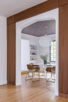 Hacin Associates Puts A Fresh Spin On An 1930s Home  |  Photo by Michael Stavaridis