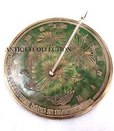 Antiques Vintage Brass Antique Made Push Button Sundial Compass Antique Style 15 Pcs The Reasonable Price