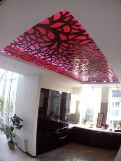 Ceiling design laser cut