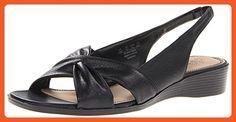 Lifestride Women's Mimosa Wedge Shoes 6M US Black - Sandals for women (*Amazon Partner-Link)