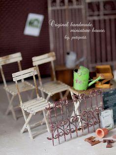 miniature* Garden : natural色の生活~handmade家具