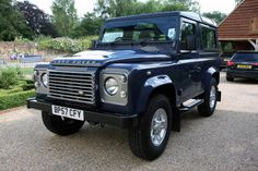 Best colour for a defender 90? - Pistonheads - - Tamar Blue (Solid)