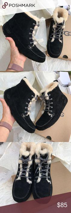UGG water resistant chickaree laceup booties sz 7 UGG water resistant chickaree laceup booties sz 7 new 100% authentic ! AUTHENTIC AUTHENTIC AUTHENTIC! itemcloset#docin UGG Shoes