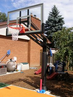 Play on top of the line basketball courts and multigame flooring with custom basketball hoop to give your organization a professional appearance at an affordable price. Basketball Goals For Sale, Basketball Tickets, Basketball Uniforms, Outdoor Basketball Court, Rules For Kids, Photo Galleries, Sports, Flooring, Gta