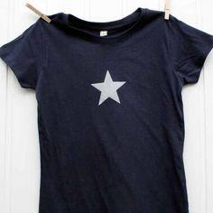 Star T-shirt, night Blue