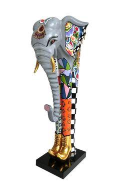 """Elefant """"Constantin"""" L aus der neuen Classic Line Collection 2017 - erhältlich in vier verschiedenen Größen/Varianten. Sämtliche Toms Drags erhältlich auf www.amaru-design.com"""