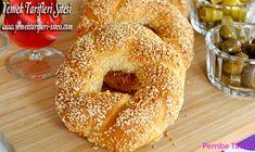 Pastane Usulü Simit Tarifi Bagel, Pizza, Bread, Recipes, Food, Recipies, Brot, Essen, Baking
