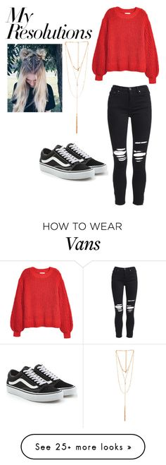 """#PolyPresents: New Year's Resolutions"" by vansalaz on Polyvore featuring AMIRI, H&M, Vans, Ettika, contestentry and polyPresents"