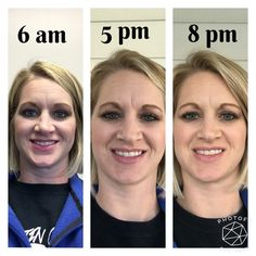 All day coverage, liquid foundation, lip stain, neutral eye, Younique