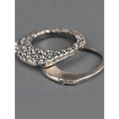 Rene' Talmon L'Armee Ring ($428) ❤ liked on Polyvore