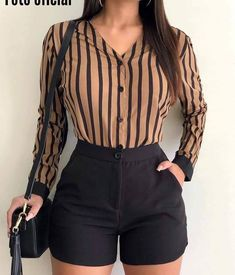 Pin by Haley Joiner on My Style Cute Casual Outfits, Short Outfits, Stylish Outfits, Summer Outfits, Cute Fashion, Look Fashion, Trendy Fashion, Fashion Outfits, Womens Fashion