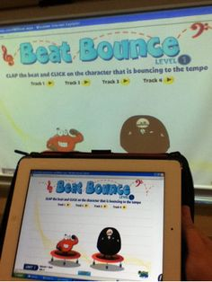I'm so happy that I found this! If you teach music, check out www.quavermusic.com. Use Technology in the Music Classroom with Quaver Creatives and IWBs!  My kids have loved it so much that they have even been getting on the site at home!