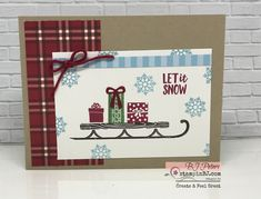 Look at the webpage to see more about Handmade Christmas Card Ideas Diy Christmas Cards, Stampin Up Christmas, Xmas Cards, Christmas Projects, Handmade Christmas, Christmas Ideas, Alpine Adventure, Winter Cards, Card Sketches