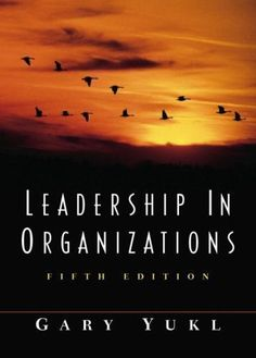 Leadership in Organizations Fifth Edition 5th Gary Yukl Business Communication #Textbook