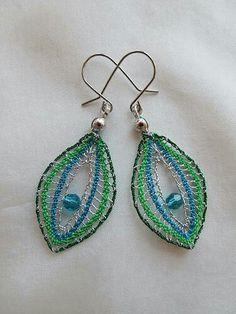 Lace Earrings, Lace Jewelry, Crochet Earrings, Bobbin Lacemaking, Earrings Handmade, Tiffany, Pattern, Inspiration, Bracelets