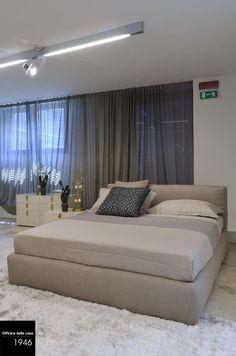 Colori naturali su una base bianco candido rendono la vostra camera da letto un ambiente di design, con cromie che conciliano il riposo.