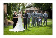 FIlberg park wedding ceremony