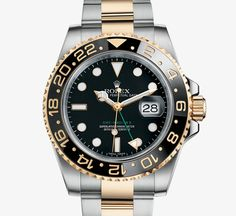 ROLEX GMT-MASTER II - Reference code 116713LN - MODEL CASE Oyster, 40 mm, steel and yellow gold