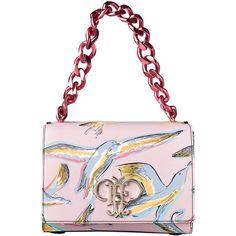 レッド&ピンクで女の二面性を演出。 featuring polyvore, women's fashion, bags, handbags, white bag, white purse and white handbags