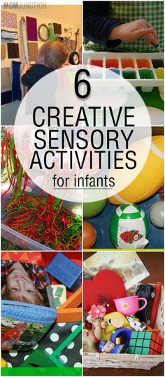 6 Creative Sensory Activities For Infants: Awakening your baby's senses is like introducing him or her to a new universe. So here are some sensory activities that will make your baby's exploration into the world of senses special.