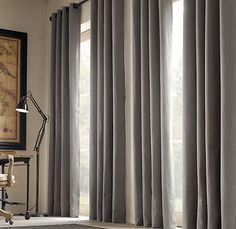 restoration hardware curtains for texture mapping
