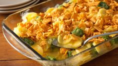This casserole will be the new favorite at your next holiday gathering. Easy to put together, even more delicious to eat!