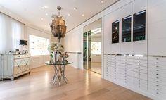 Celine Dion's custom-designed closet