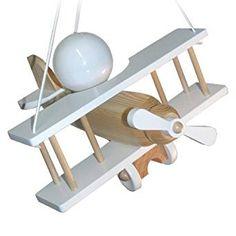 Deckenlampe für ein Piloten Kinderzimmer   Hängelampe Flugzeug