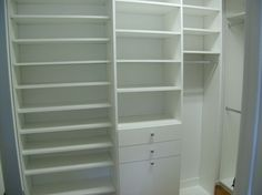 Walk In Closets White Design Ideas, Pictures, Remodel and Decor